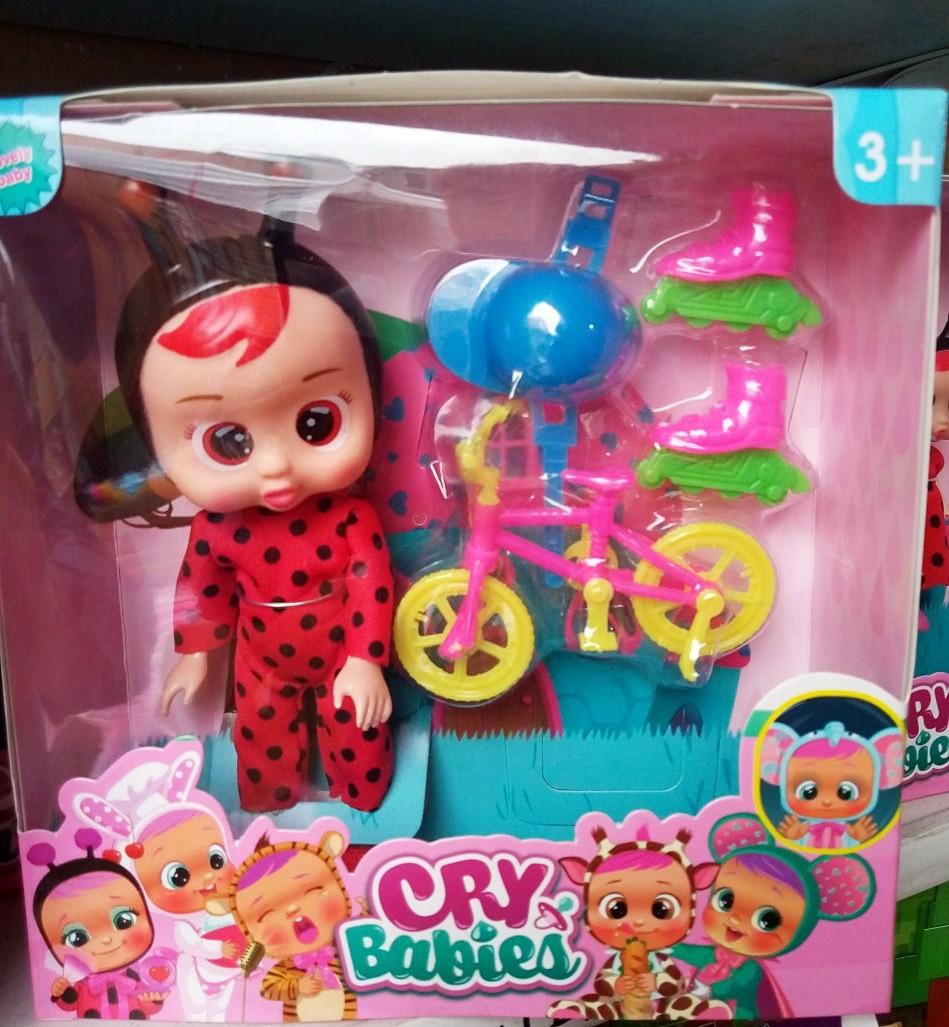 Кукла Cry Babies Божья коровка