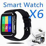 Умные часы Smart Watch X6 Plus Black, фото 2