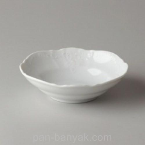Салатник Thun Bernadotte (без декору) круглый d13 см фарфор (0011000)