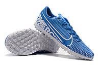 Футбольные сороконожки Nike Mercurial Vapor XIII Club TF Blue Hero/White/Obsidian, фото 1