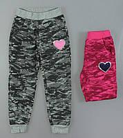 Спортивні штани з начосом для дівчаток 116/146 см