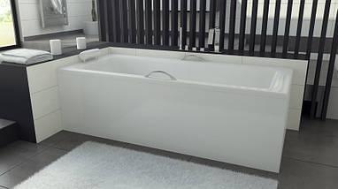 Ванна 110*70 Besco TALIA + обудова передня 110 + ніжки, фото 2