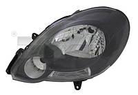 Фара черн лев Renault Kangoo 2 08-13