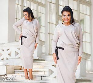 Оригинальное платье миди длины, фото 2