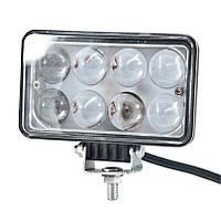 Доп LED фара BELAUTO BOL0803L 1600Лм (точечный), фото 1
