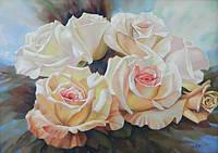 Интерьерная картина Цветы Розы (купить картину розы)