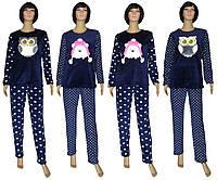 NEW! Оригинальная серия женских зимних пижам с вышивкой - серия Kombi ТМ УКТРИКОТАЖ!