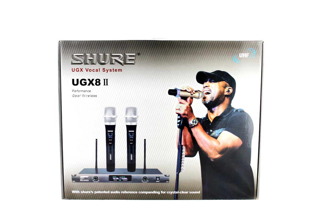 Беспроводной микрофон | Беспроводная радиосистема на два микрофона DM UGX X8 II