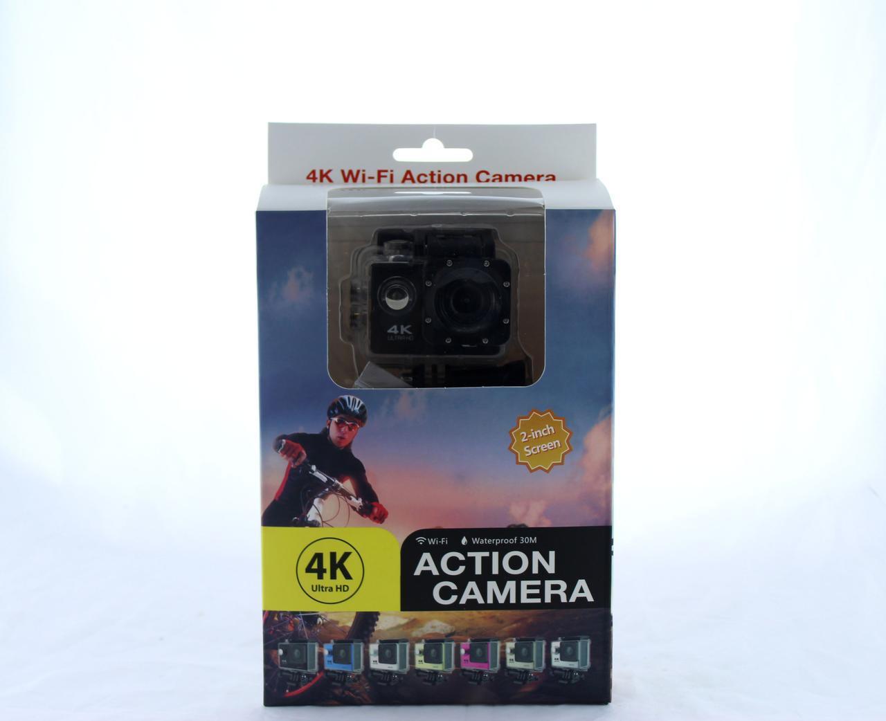 Экшн камера DVR SPORT S2 Wi Fi waterprof 4K (7002)