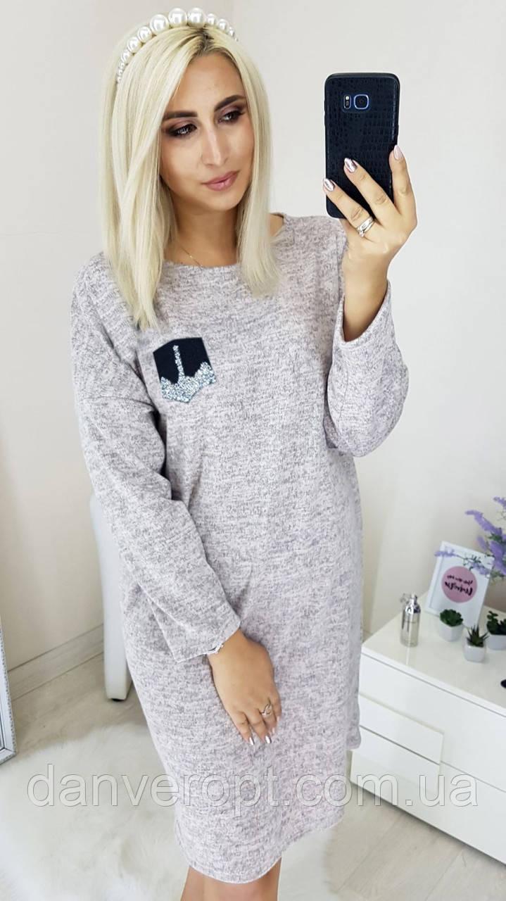 Платье женское модное стильное размер универсальный 48-52 купить оптом со склада 7км Одесса