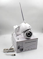 Панорамная IP WiFi камера 1080p 2.0 Mp уличная 360 с детектором движения V380