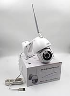 Панорамна WiFi IP-камера 1080p 2.0 Mp вулична 360 з детектором руху V380