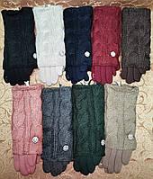 Сенсорны вязание шерсти трикотаж женские перчатки с сенсором для работы на телефоне плоншете оптом, фото 1