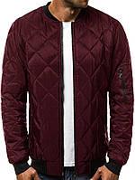 Мужская стильная бордовая курточка!Осень 2019