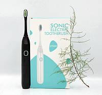 Электрическая зубная щетка Sonic Electric S1001 NEW водостойкая черная