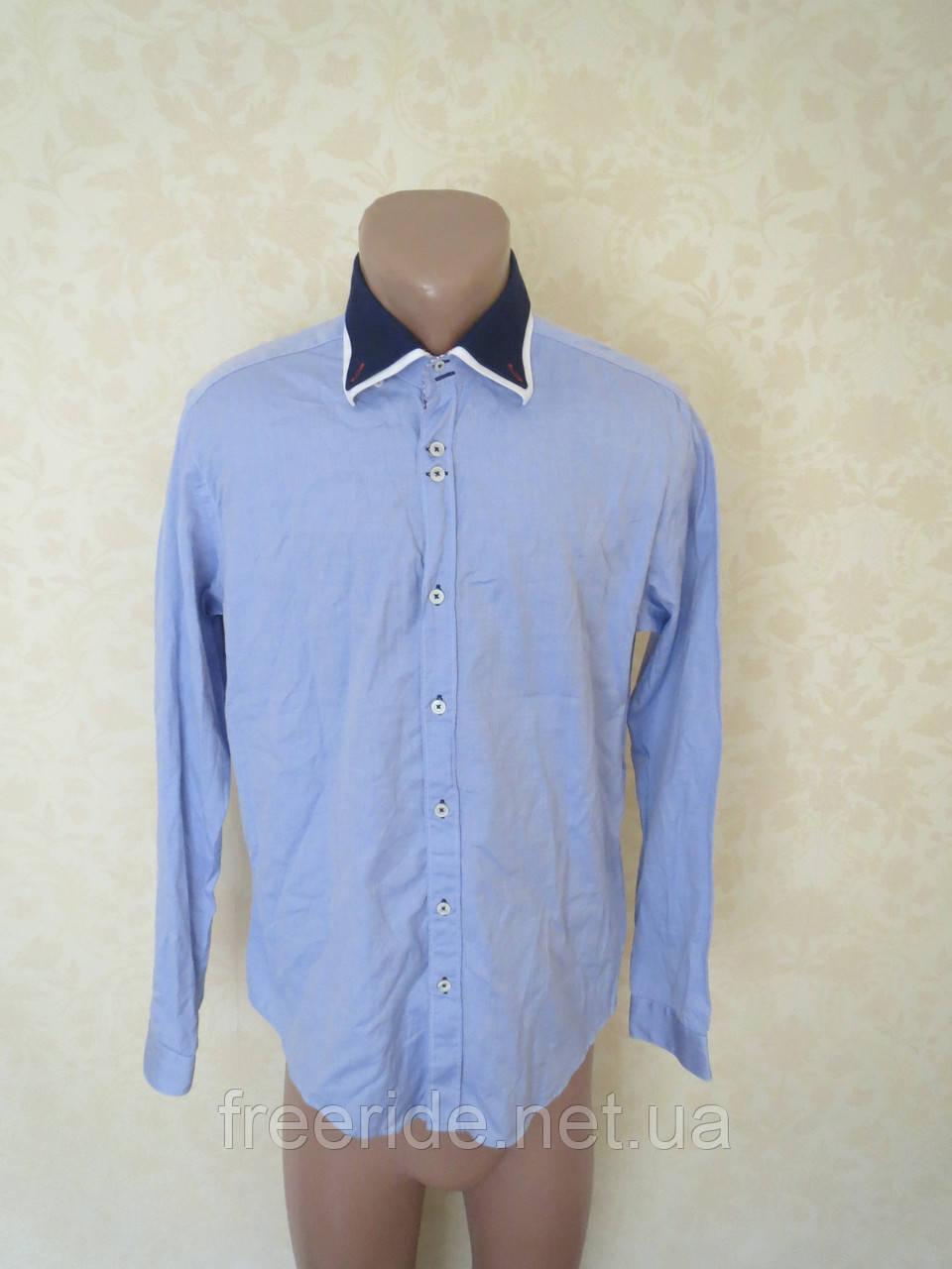 Фирменная стильная рубашка ZARA MAN (L)