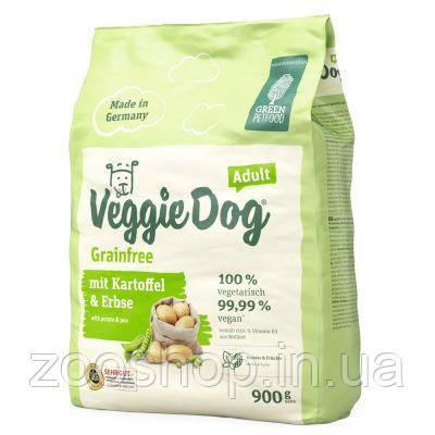 Green Petfood VeggieDog Grainfree беззерновой корм для взрослых собак 900 г, фото 2