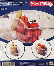 Пластиковый лоток для холодильника 4,3л (цвет-белый), фото 3