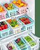 Пластиковый лоток для холодильника 4,3л (цвет-белый), фото 4