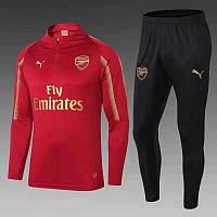 Тренировочный костюм FC Arsenal красный 2019-2020, фото 1