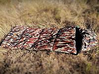 Армійський зимовий спальний мішок до -20, водонепроникний, на флісі, фото 1