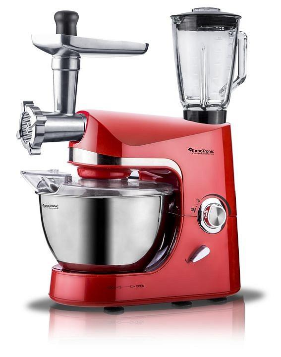 Кухонный комбайн 3в1 Turbo Tronic TT-007 - Красный