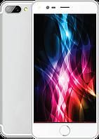 """Сенсорный мобильный телефон (смартфон) M-Horse i7 Plus (5.5"""") Silver #S/O"""