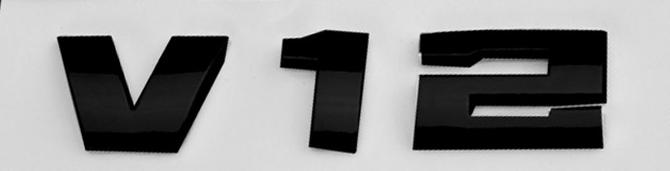 Эмблема шильдик Наклейка V12 Mercedes-Benz A,AMG GT,B,C,CLA,CLC,CLK,CLS,E,G,GLA, GLC,GL,GLE,GLK,GLS,M,R,S,SL