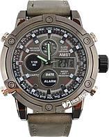 Мужские часы AMST AM3022 Grey #S/O