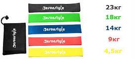 Резинка для фитнеса и спорта Esonstyle (эластичная лента эспандер) набор 5 шт + Чехол в комплекте #S/O