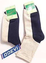 Лляні чоловічі шкарпетки фірми Elegant 25,27,29 розмір