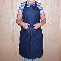 Передник (фартук ) джинсовый для работы