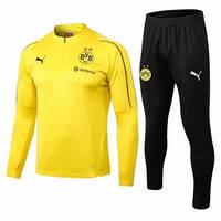 Тренировочный костюм Borussia Dortmund желтый 2019-2020, фото 1