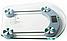 Электронные цифровые Весы напольные Квадратные MATARIX электронные Стеклянные до 150кг для Дома Аккумуляторные, фото 3