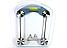Электронные цифровые Весы напольные Квадратные MATARIX электронные Стеклянные до 150кг для Дома Аккумуляторные, фото 4