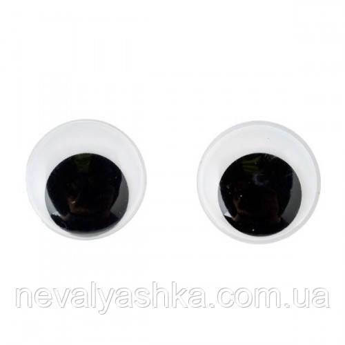 Глазки для Игрушек 1 шт Круглые 1,2 см 120 мм Глазок для деталей Бизиборда Оченятка для іграшок Бізіборда