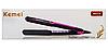 Утюжок для волос Kemei KM-2119 плойка выпрямитель Камей, щипцы для волос, керамический утюжок, фото 10