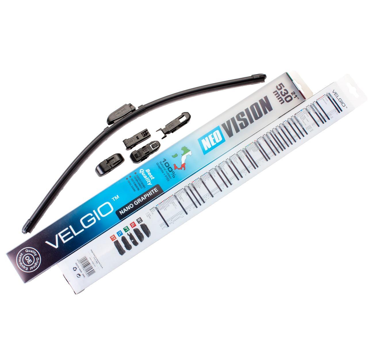 Дворники для авто Velgio Neo Vision 21in / 530мм
