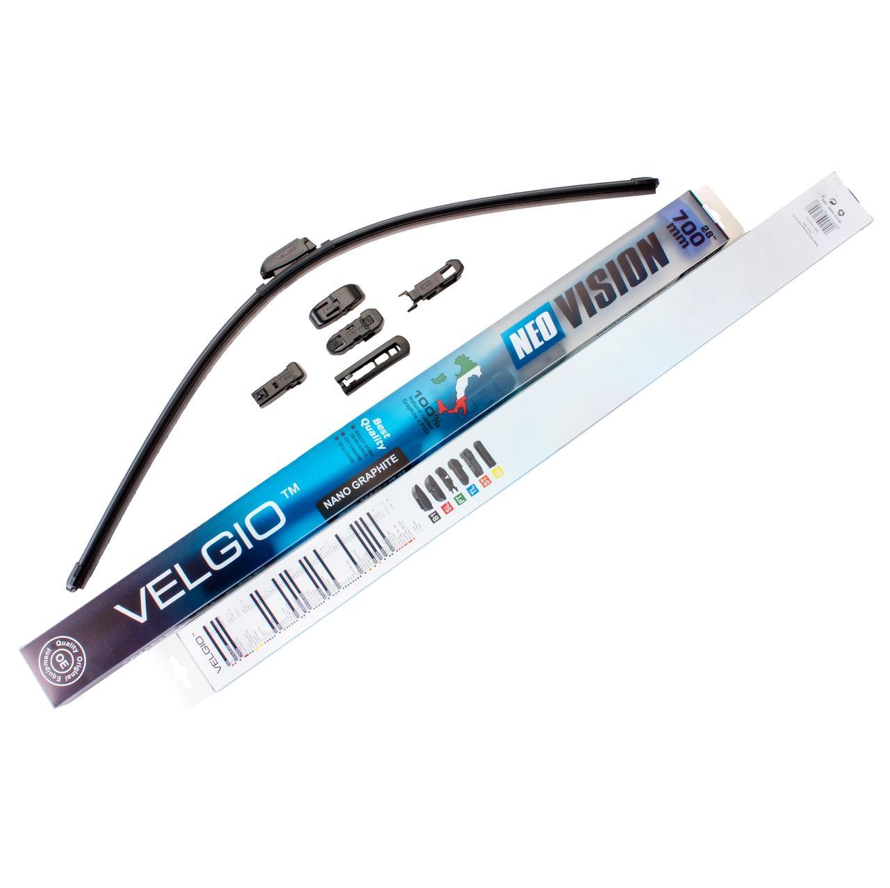 Дворники для авто Velgio Neo Vision 28in / 700мм