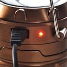Персональный светодиодный фонарь на солнечной батарее CAMPING G85, фото 7