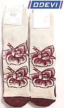 Лляні жіночі шкарпетки фірми Elegant 23-25 розмір