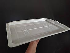 Пластиковая крышка от контейнера Б/У. 500х330х25мм. Крышка Политор, фото 3