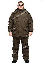 """Зимовий костюм для рибалок і мисливців """"грізлі"""" -30 """"Олива - хакі"""""""