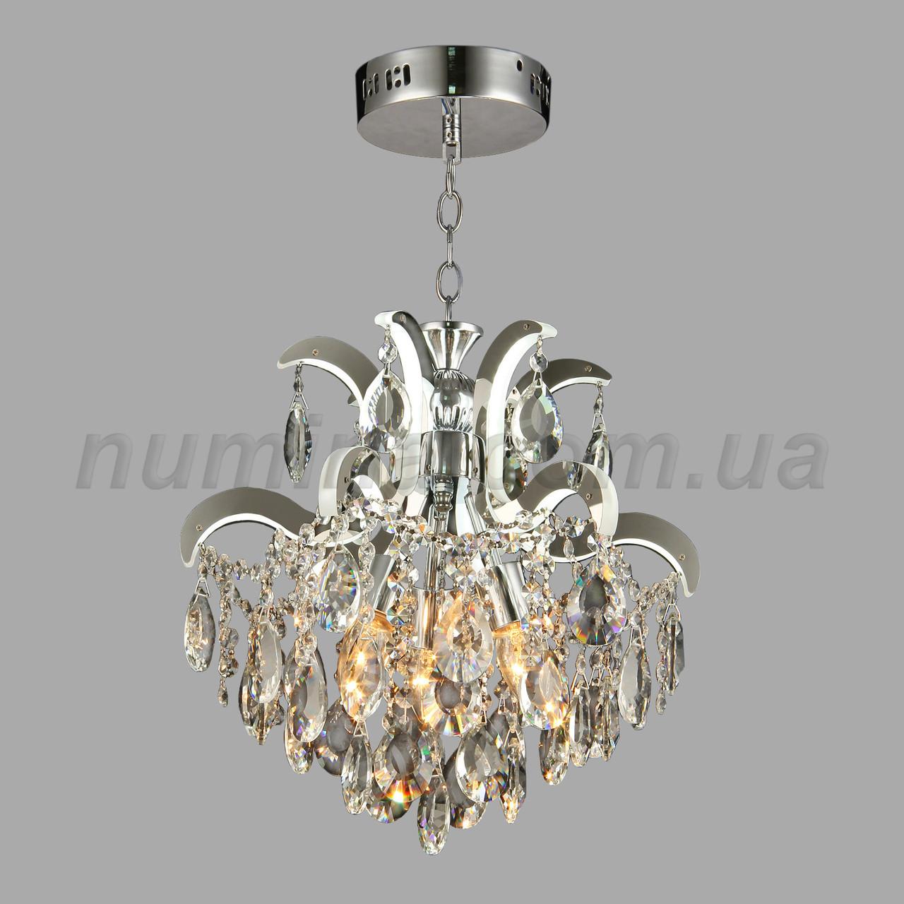 Подвесная хрустальная люстра на девять ламп3-E1629/3+6
