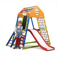 Детский спортивный комплекс KindWood Color Plus 3  SportBaby , фото 1