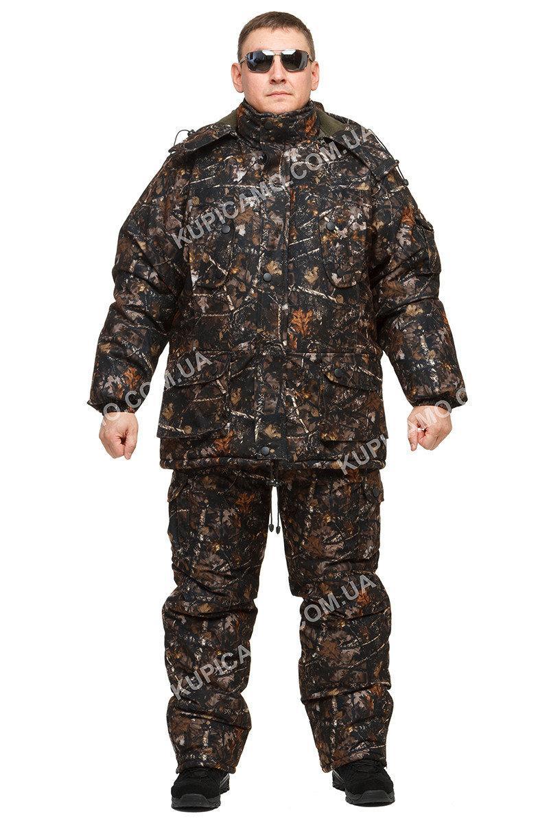 """Зимний костюм для рыбаков и охотников """"гризли"""" -30 """"Тёмный Лес"""""""