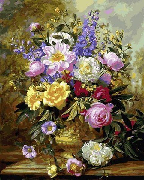 Картина по номерам 40×50 см. Babylon Цветочное великолепие III Художник Альберт Уильямс (VP 1058)