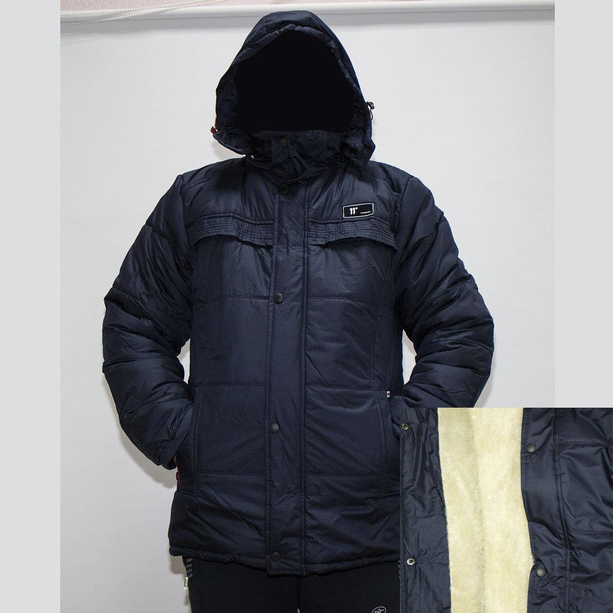 Куртка мужская зимняя на на овчине р.48