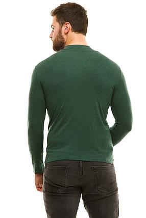 Гольф теплый кашемир 044-2 зеленый, фото 2
