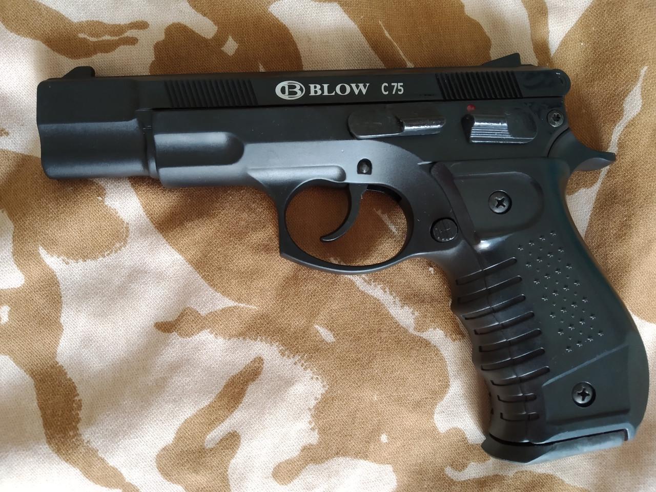 Сигнальный пистолет Blow C 75 с дополнительным магазином